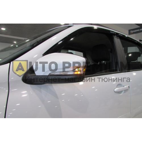 Светодиодные динамические повторители поворота Лексус Стайл в зеркала нового образца для Лада Гранта, Гранта FL